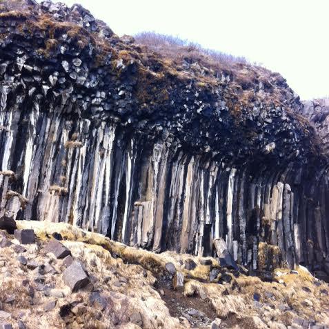 svartifoss basalt columns